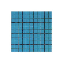Blue mosaic tiles for swimming pool