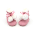 Pink Cute Winter Warm Booties