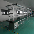 90 degree curve roller conveyor