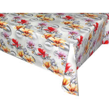 2019 Elegant Tablecloth with Non woven backing