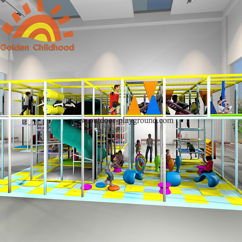 large play structure indoor playground for sale