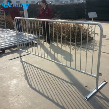High Permance for Steel Barriers PVC Coated Security Traffic Crowd Control Barrier export to Barbados Manufacturers