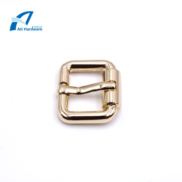 Square Pin Buckle with Clip Chain for Metal