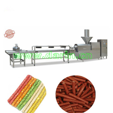 Lecithin pet snack cold extruder machine