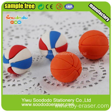 Colorful Best Quality Attractive Sport Rubber Eraser