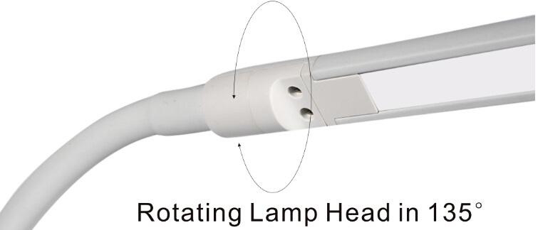 5500k gooseneck reading lamp