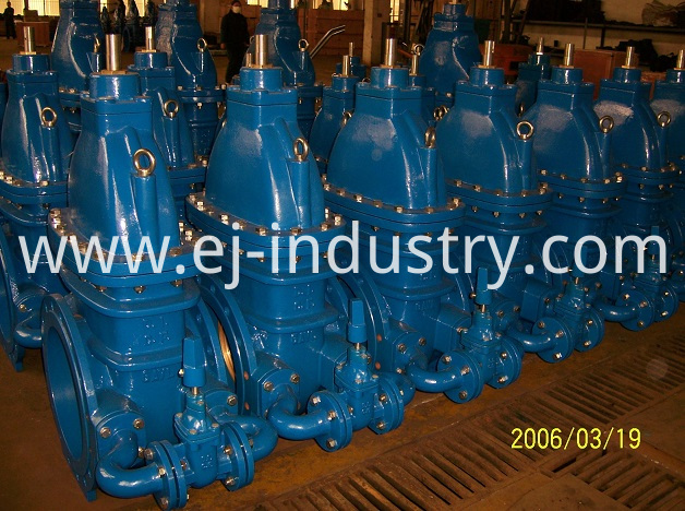 BS5163 Gate Valve by Pass