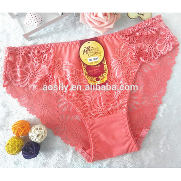 AS-5860 women undergarments brand sexy underpants lace classic underwear