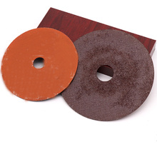 Red aluminum sanding disc for polishing abrasive disc