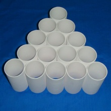 Large size alumina ceramic tube