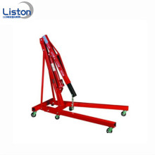 2T foldable hydraulic engine shop crane for sale