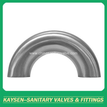 3A Sanitary Stainless Steel 180 Deg Welded Elbow