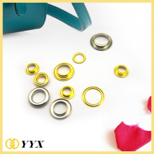 Big size 15mm flat gold silver eyelets