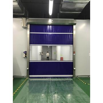 Industrial high speed door for factory