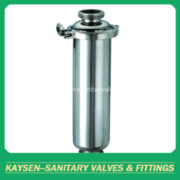 SS304 Sanitary Filter Threaded Straight