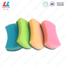 Waist shape basic cleaning sponge
