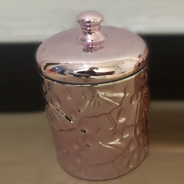 Cheap Copper Glass Jars For Candy