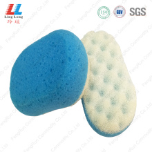 Seaweed gradient color bath sponge