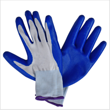 Fake nylon garden glove labor glove working glove