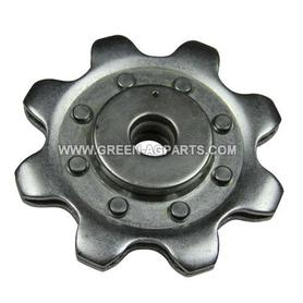 AH101219 Gathering Chain 8 Tooth Sprocket for John Deere Cornhead