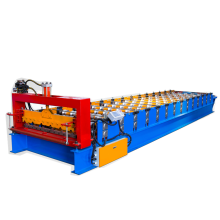 Trapezoidal metal sheet roofing sheet machine
