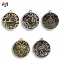 Vintage medals metal antique silver bronze medal