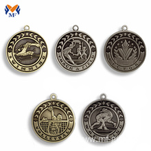 Customized for Basketball Medal Vintage medals metal antique silver bronze medal supply to India Wholesale