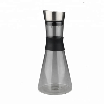Hot and Cold Glass Water Pitcher
