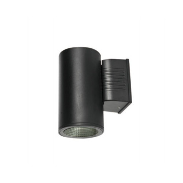 Waterproof BLack 5W*2 Outdoor Wall Light
