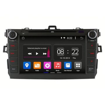 New Arrival for Double Din Av Navigation System sale Car radio Player for Toyota Corolla 07-09 supply to Fiji Supplier