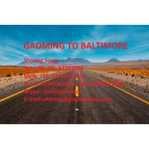 Foshan Gaoming Sea Freight to United States Baltimore