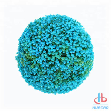 Light Blue Artificial Plant Ball