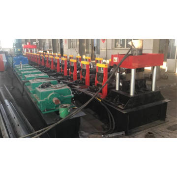 two waves highway protecting plate machine