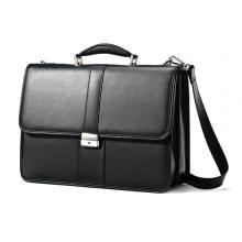 Customized hot fashion leather laptop bag