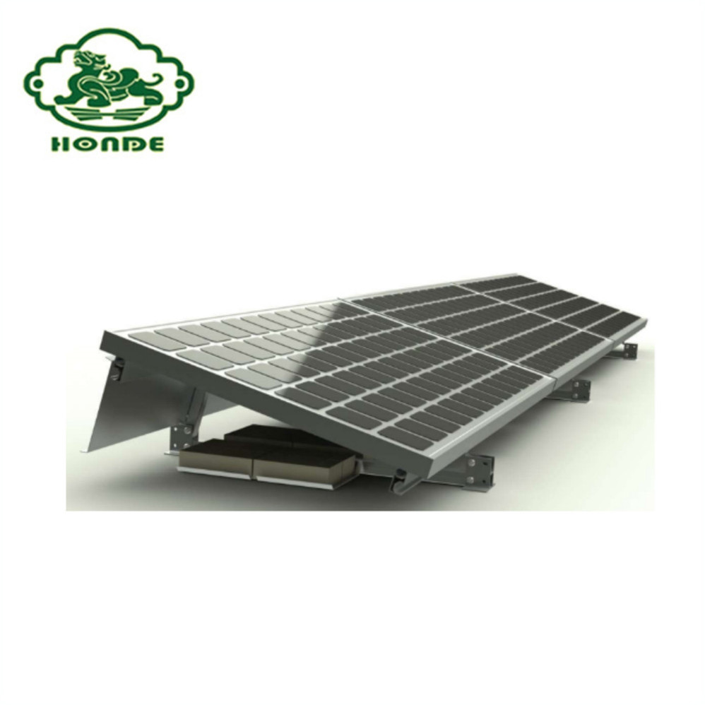 Solar Panel Ground Fixing Racks Brackets Mounting System