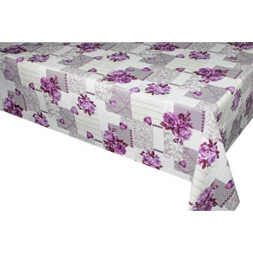 Elegant Tablecloth with Non woven backing for Room