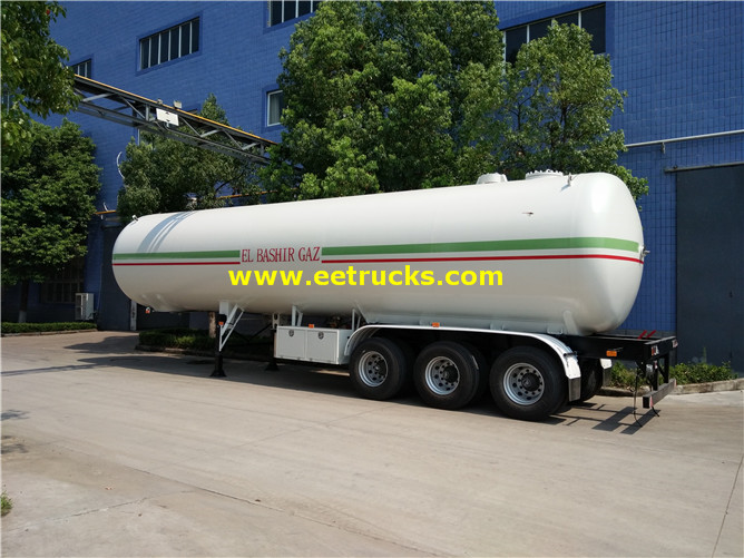 Large Propane Gas Transport Trailers