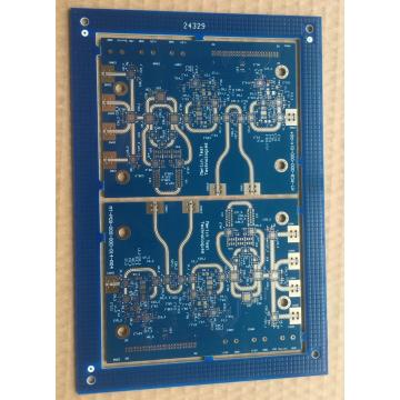 6 layer FR4 and RO4350B RF PCB