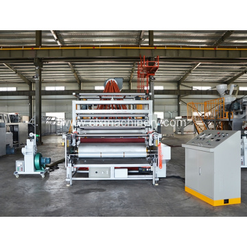 1500mm Plastic Embossed Film Extruder Machine