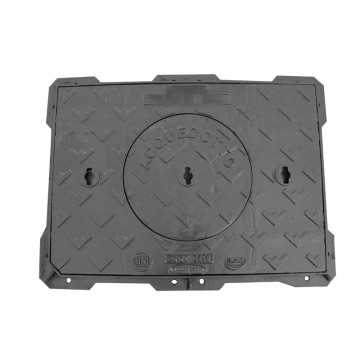 En124 D400 Ductile Iron Manhole Cover for Municipalities