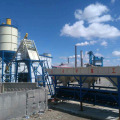 Tipe batching stationary beton batching plant HZS75