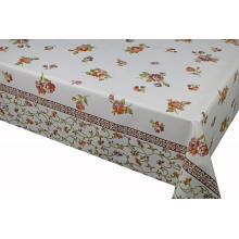 Elegant Tablecloth with Non woven backing 52X52