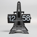 Eiffel Tower Table Flip Clock