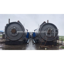 Fuel Oil from Waste Tires Environmental Pyrolysis Machine