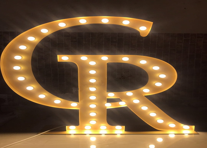 Vintage Marquee Letter Signs