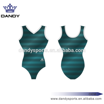 Good Quality for Girls Gymnastics Leotards stripes custom practice kids dance leotards supply to Ecuador Exporter