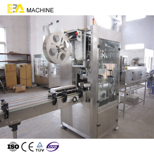 Semi Automatic Square Bottle Label Applicator