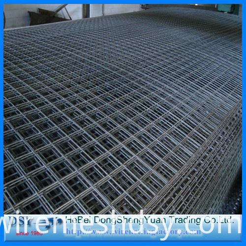 2x2 galvanized welded wire mesh panel