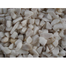 Top for Gravel Pebble Pure White Natural Pebble Stone for Decoration Garden export to South Korea Manufacturers