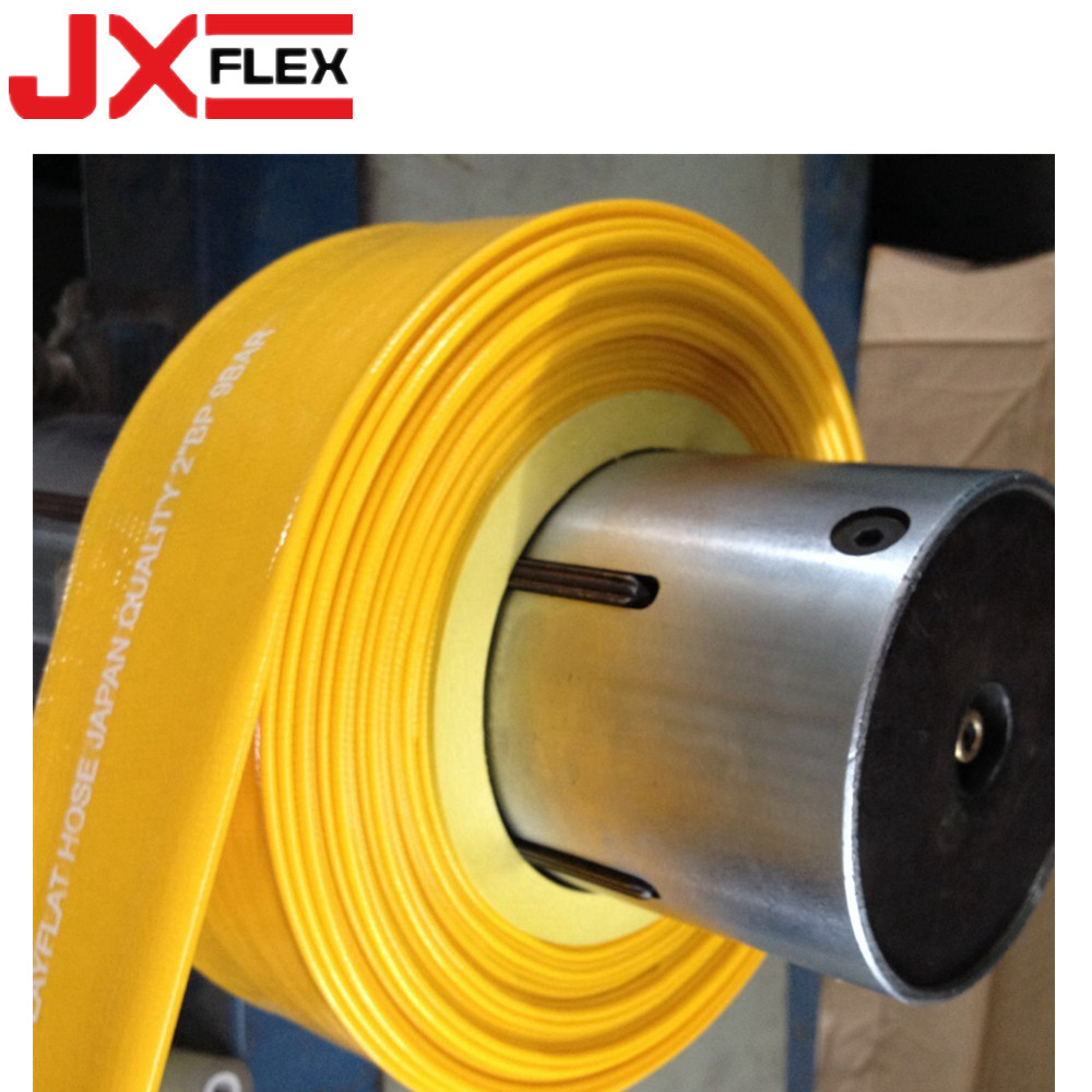 yellow lay flat hose